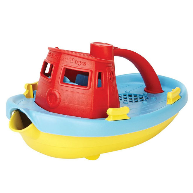 Green Toys Boot rood