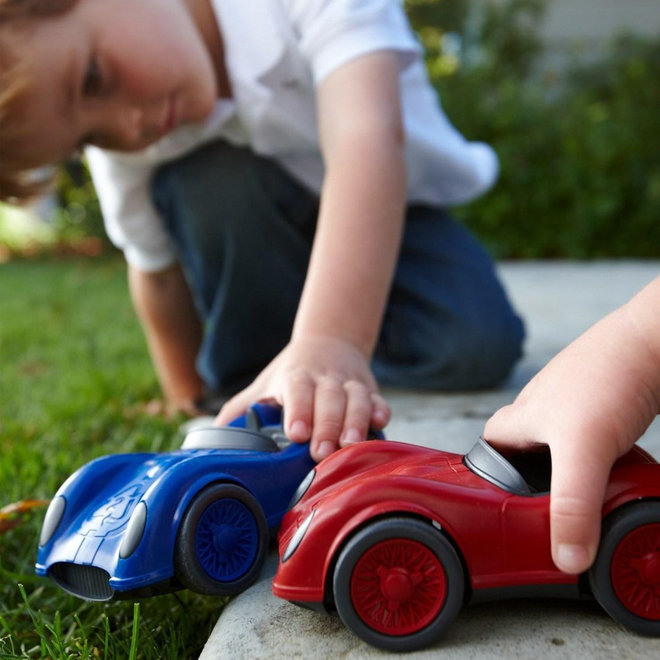 Green Toys Auto blauw