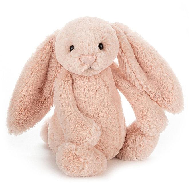 Knuffel zalmroze konijn