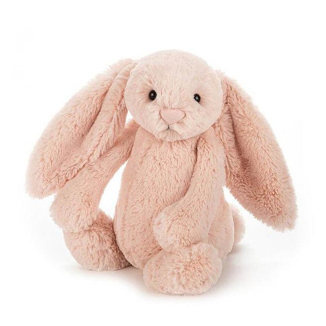 Knuffel zalmroze konijn klein