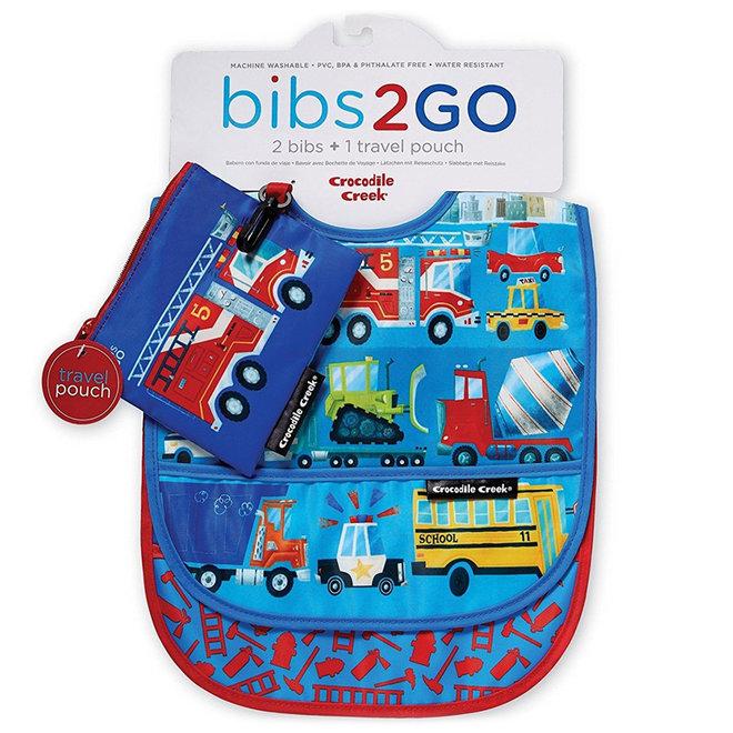 Slabbetjes Bibs2Go Busy Vehicles