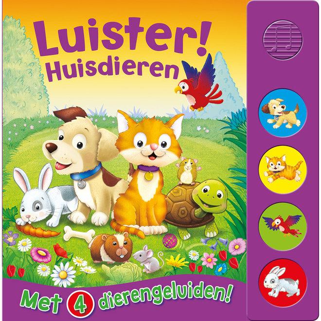Luister! Huisdieren - Geluidenboek