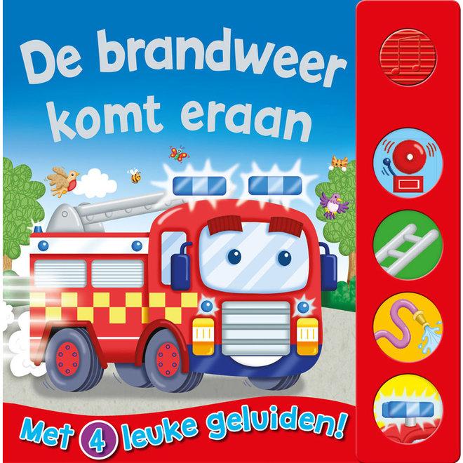 De brandweer komt eraan - Geluidenboek