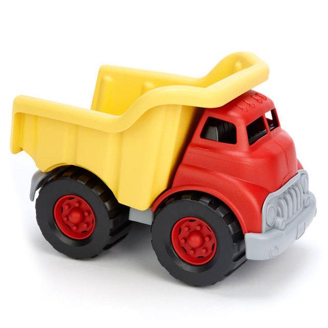 Kiepwagen rood/geel