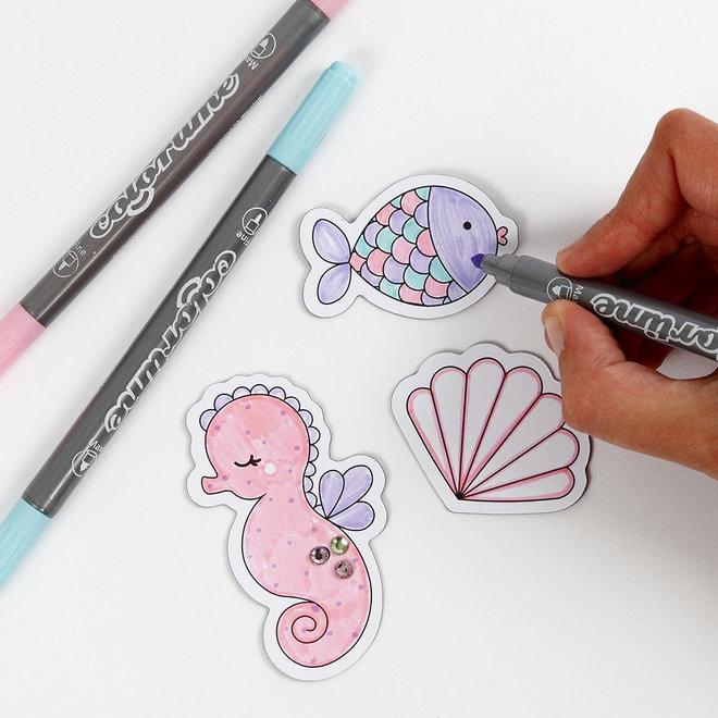 Knutselset Magneten zeedieren