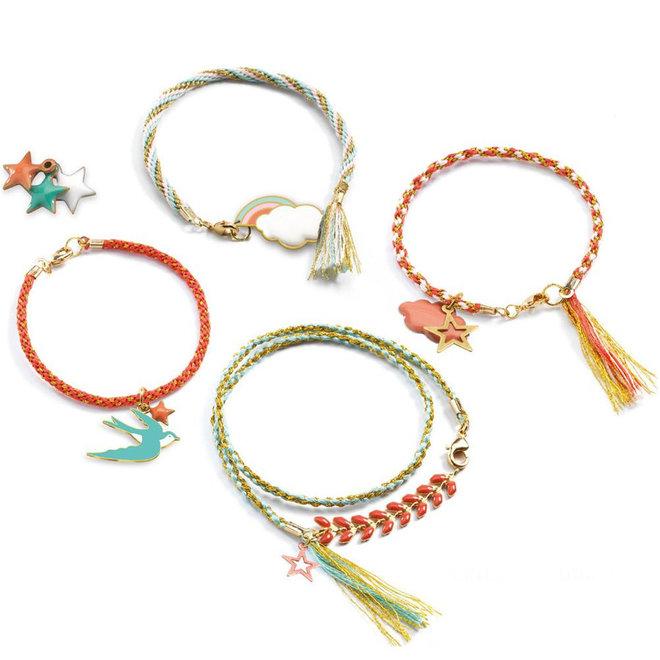 Djeco Kumihimo armbandjes maken (8-14 jaar)