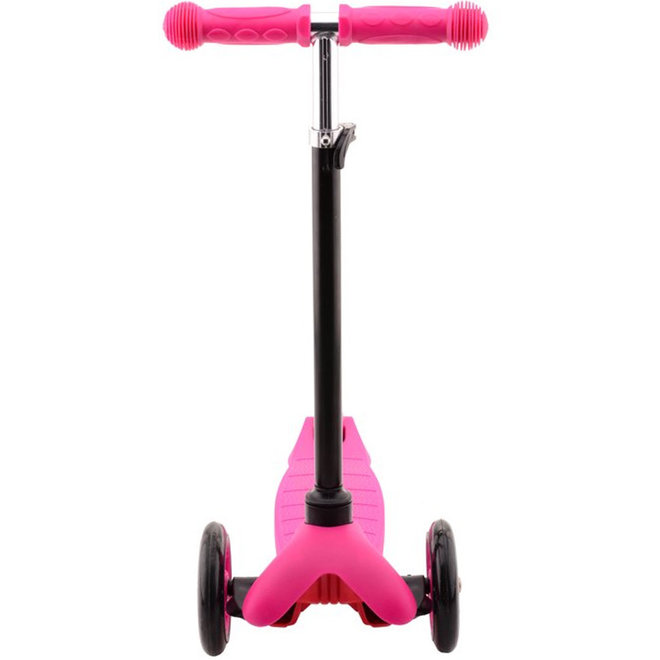 Step met drie wielen roze (2-4 jaar)