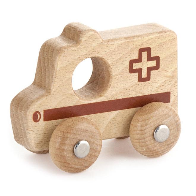 Ambulance blank hout