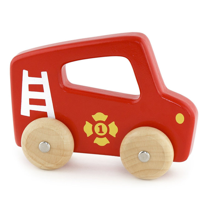Brandweerwagen met handvat