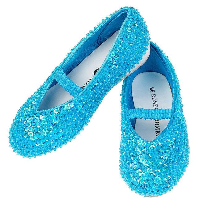 Schoenen Lily blauw (maat 32)