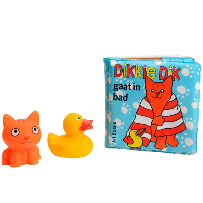 Dikkie Dik gaat in bad