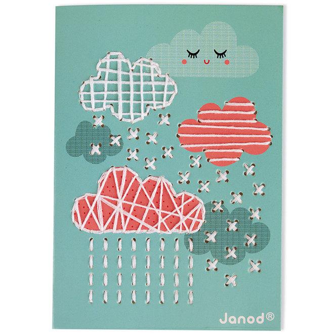 Janod Atelier - Kaarten borduren 6+