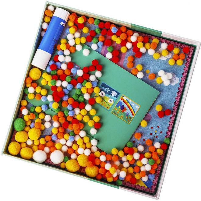 Pompon schilderijtjes - Droomwereld