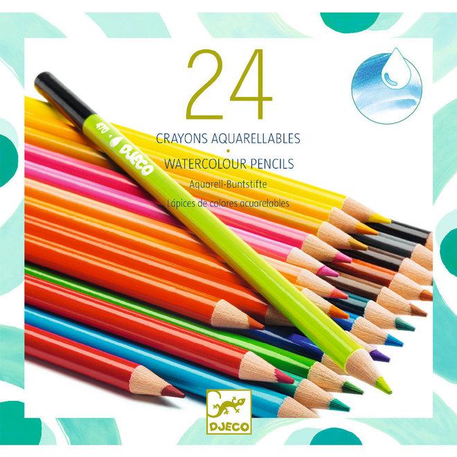 Aquarel potloden (24st)