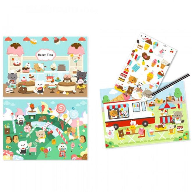 Krasplaatjes - Suikerland (4-8 jaar)