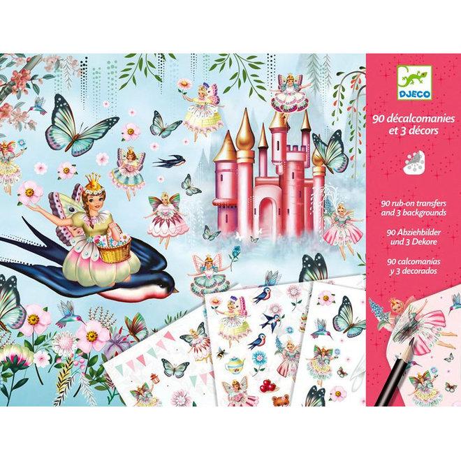Krasplaatjes - Elfjes & feeën wereld (4-8 jaar)