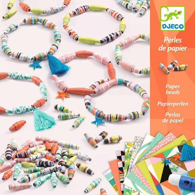 Armbandjes maken van papieren kralen (7-13 jaar)