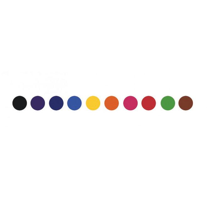 Djeco Dubbele stiften - Basiskleuren (10st)