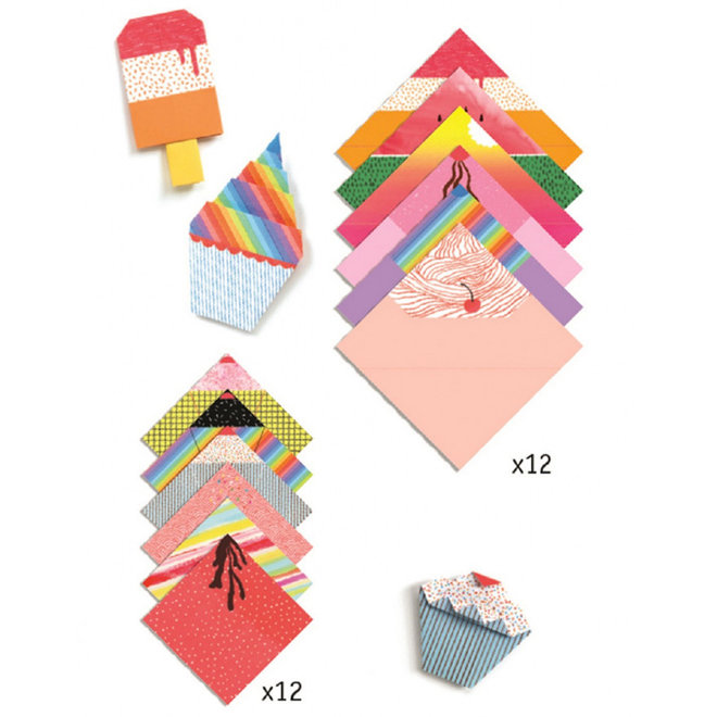 Djeco Origami ijsjes