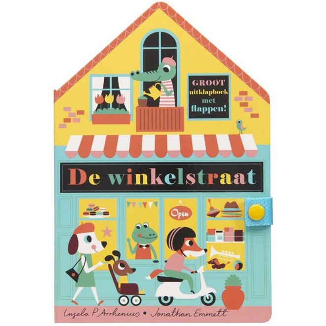 De Winkelstraat uitklapboek