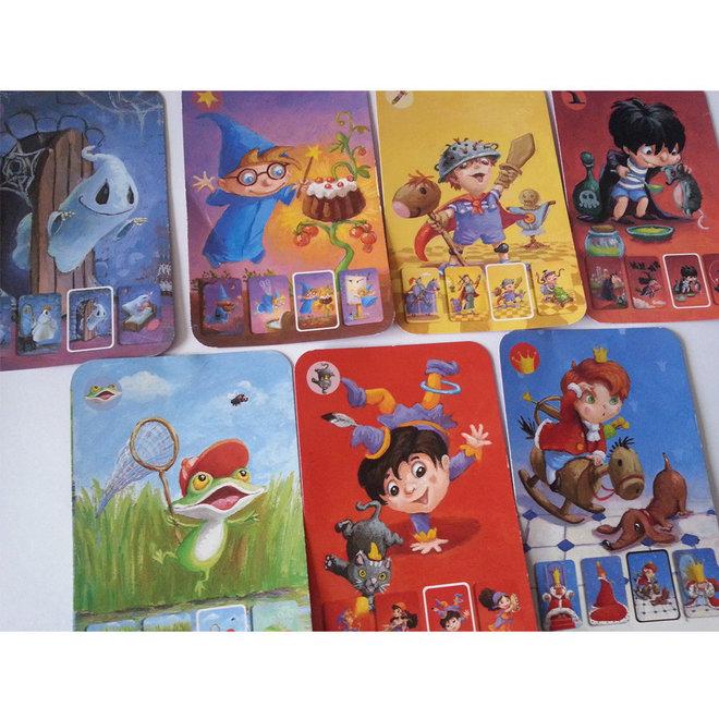 Djeco Kaartspel Mini family kwartet (4-7 jaar)
