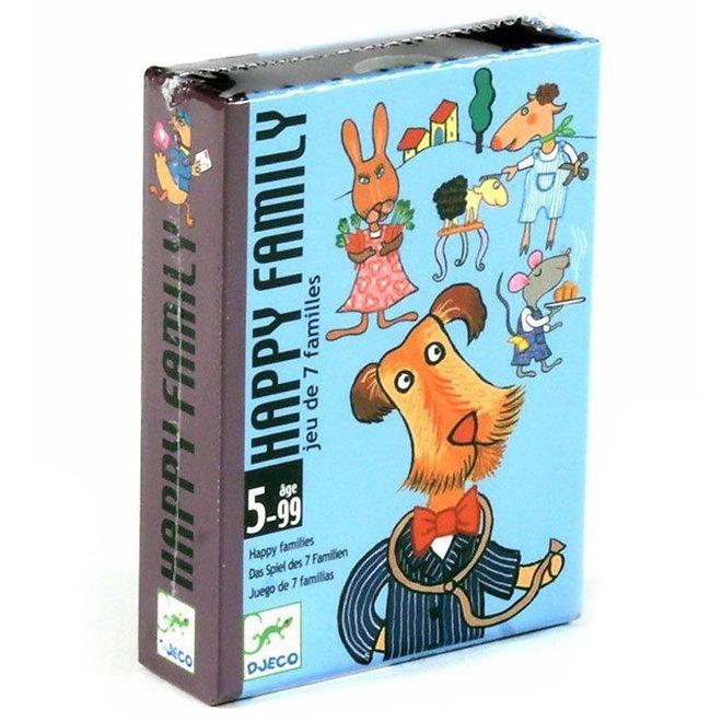 Djeco Kaartspel Happy family kwartet (5-99 jaar)