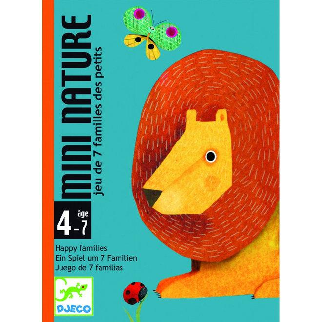 Djeco Kaartspel Mini Nature kwartet (4-7 jaar)