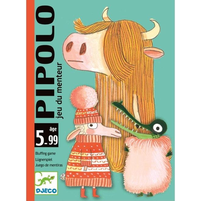 Djeco Kaartspel Pipolo bluffen (5-99 jaar)