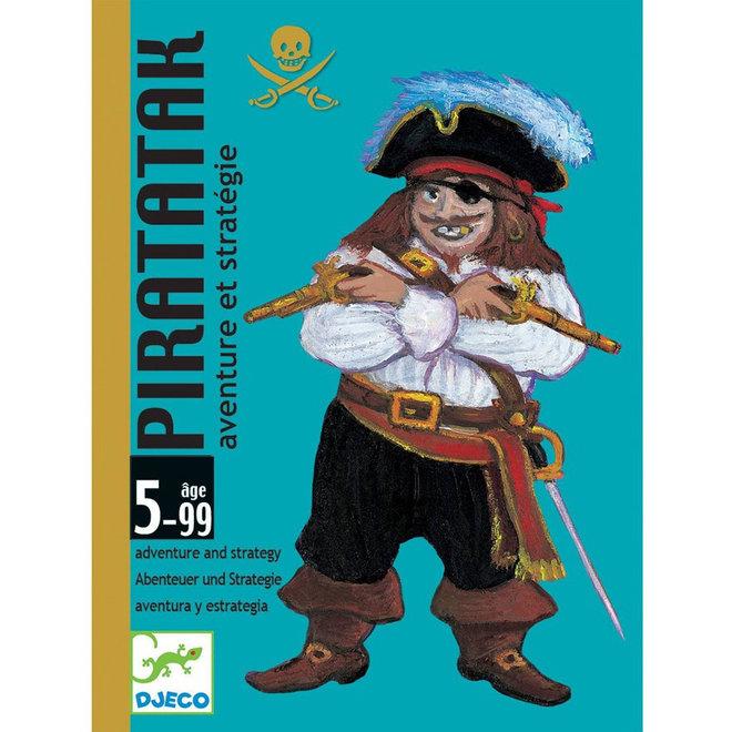 Djeco Kaartspel Piratatak strategie