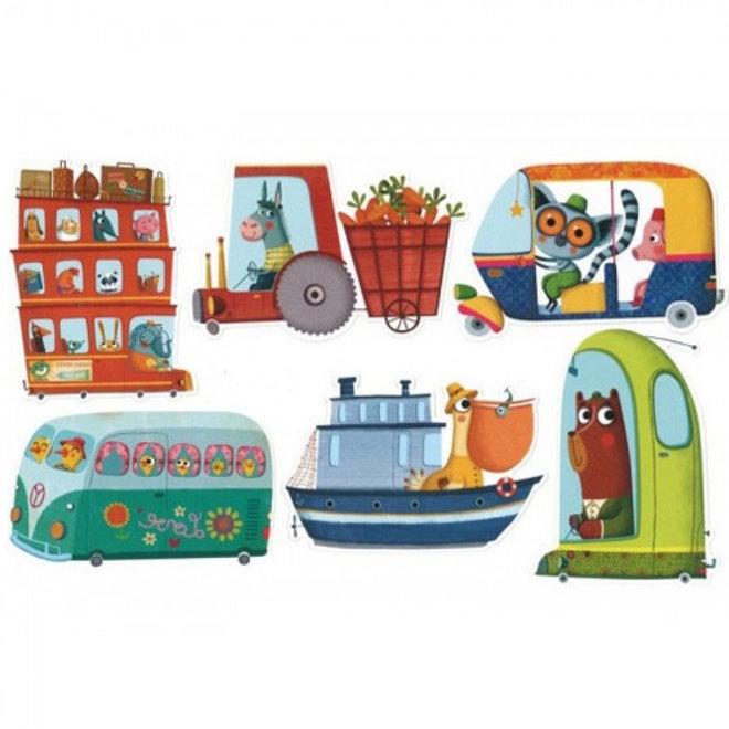 Djeco Kaartspel Batapuzzle (4-8 jaar)