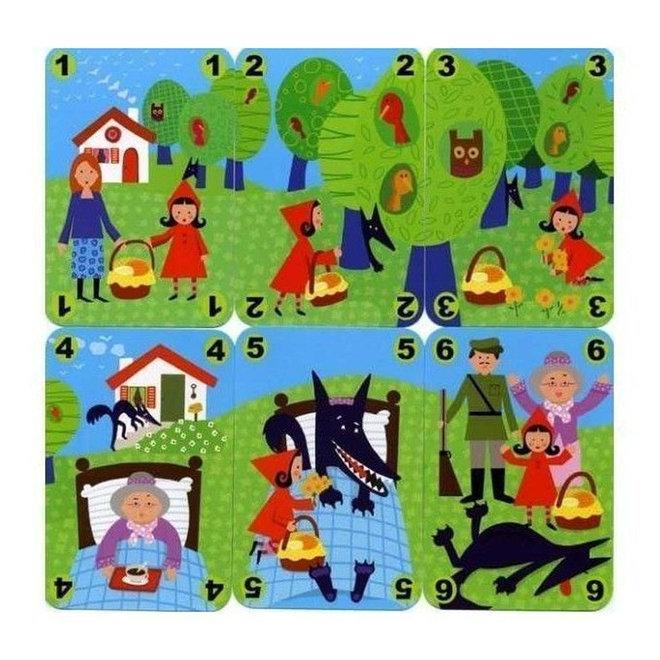 Djeco Kaartspel Roodkapje Méchanlou (4-7 jaar)
