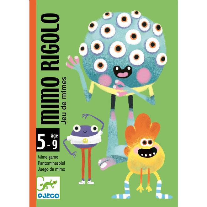 Djeco Kaartspel Mimo Rigolo (5-9 jaar)