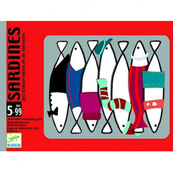 Kaartspel sardientjes (5-99 jaar)
