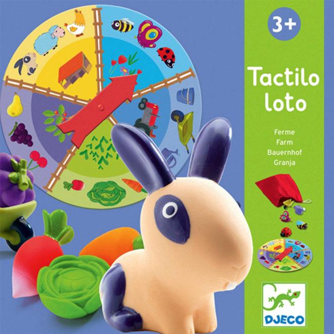 Djeco Tactile Lotto Boerderij