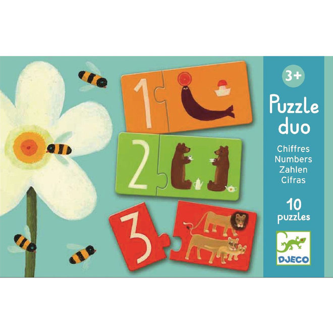 Puzzel duo nummers 3+