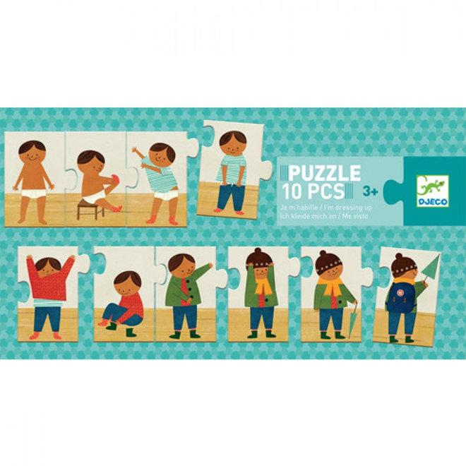 Puzzel aankleden (10st) 3+