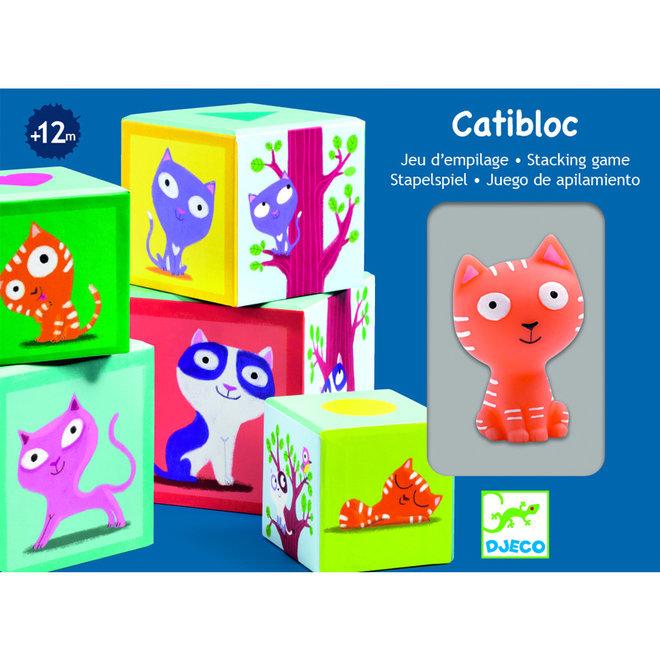 Stapelblokken katten Catibloc 1+