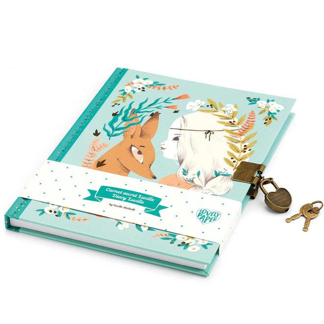 Dagboek met slot Lucille