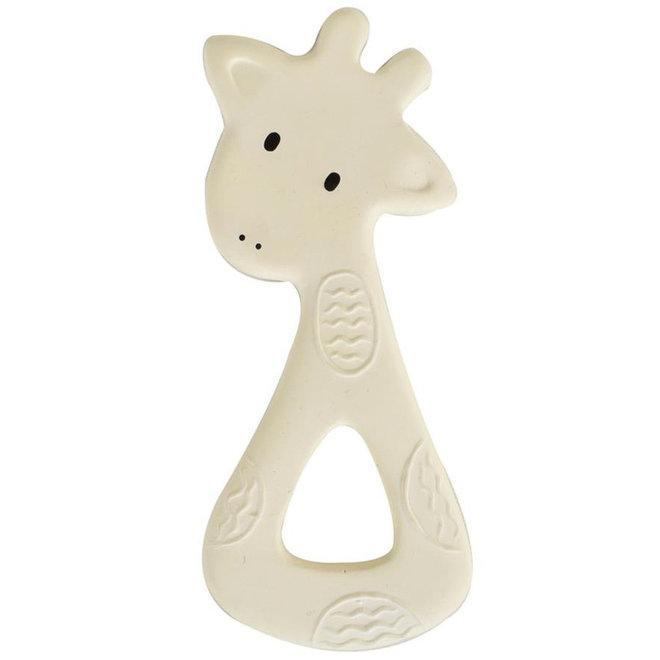 Bijtring natuurlijk rubber giraf