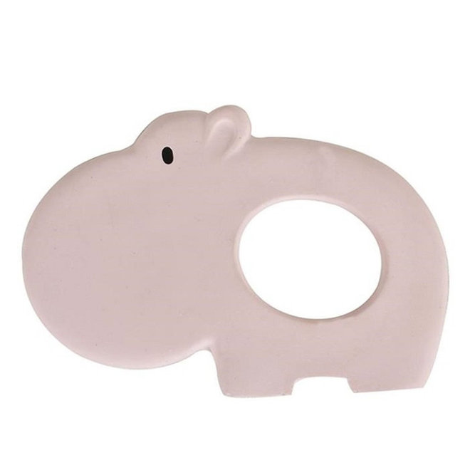 Bijtring natuurlijk rubber nijlpaard