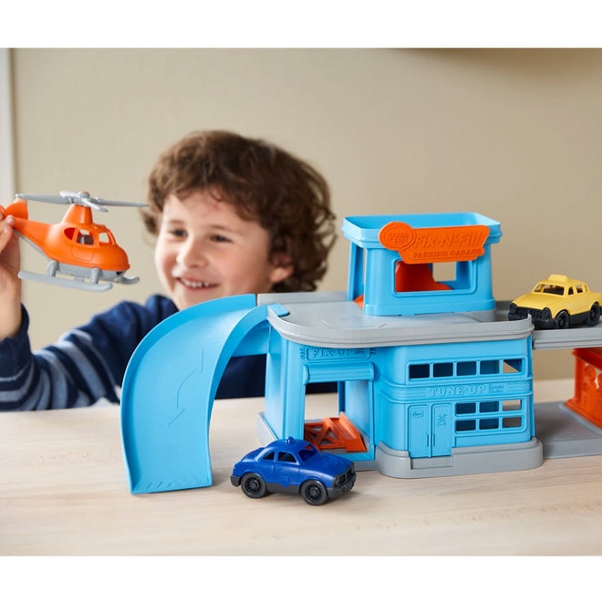 Green Toys Garage