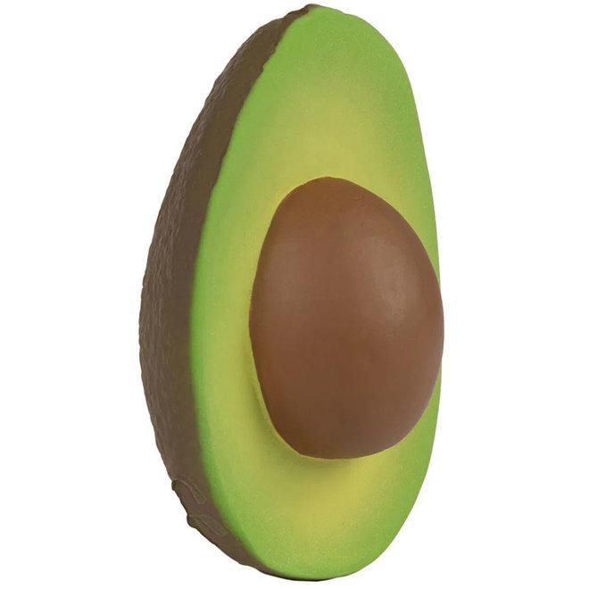 Bad- en bijtspeeltje avocado