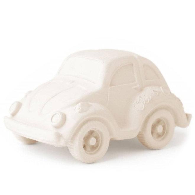 Bad- en bijtspeeltje auto wit