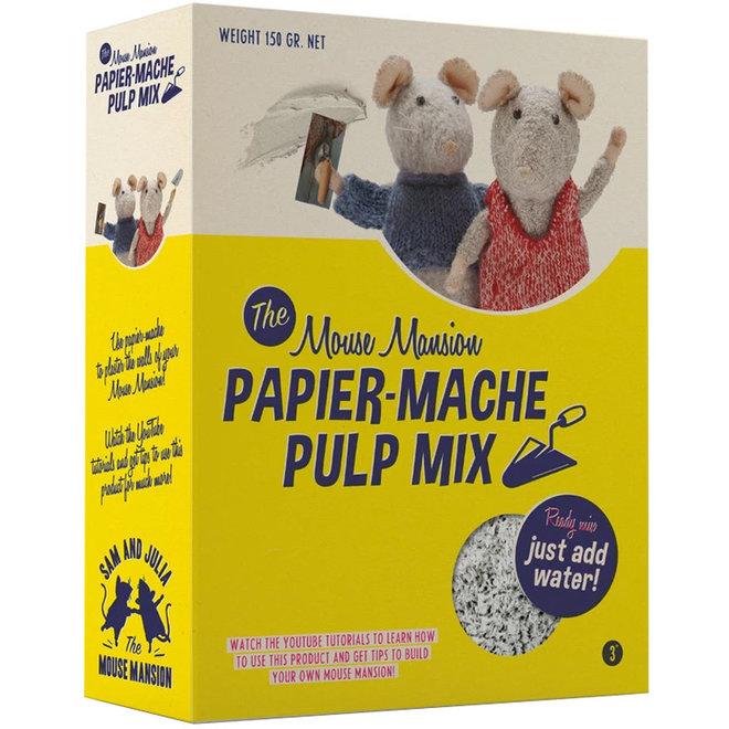 Knutsel Het Muizenhuis - Papier Mache Pulp Mix
