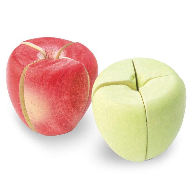 Houten appeltaart