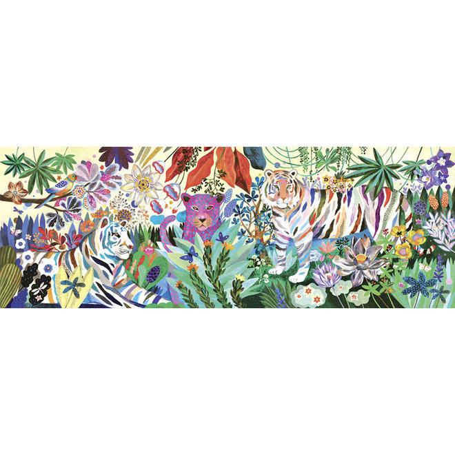 Puzzel Regenboog tijgers (1000st)