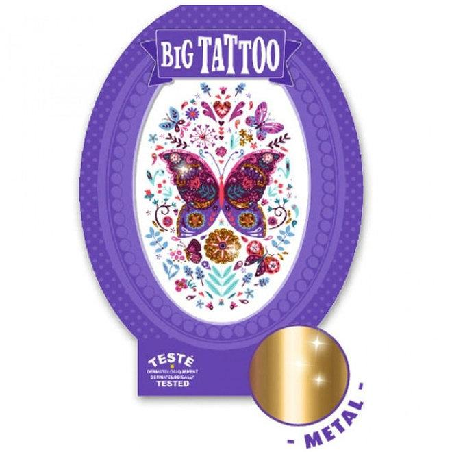 Grote tattoo - Vlinder