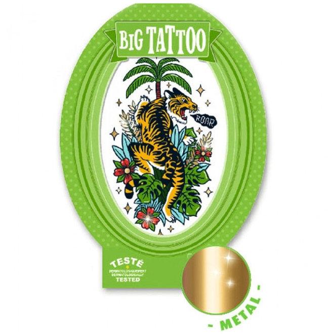Grote tattoo - Tijger
