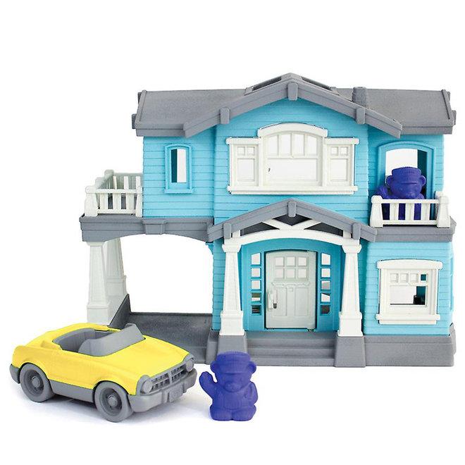 Huis met auto