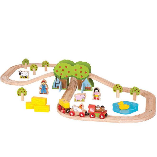 Boerderij treinset